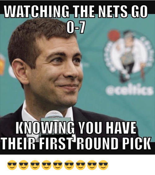 first-round-pick: WATCHING THE NETS GO  acelnics  KNOWING YOU HAVE  THEIR FIRST ROUND PICK 😎😎😎😎😎😎😎😎😎