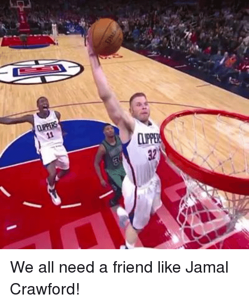 Memes, 🤖, and Jamal Crawford: We all need a friend like Jamal Crawford!