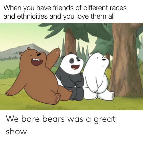 bare: We bare bears was a great show