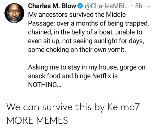 Survive: We can survive this by Kelmo7 MORE MEMES