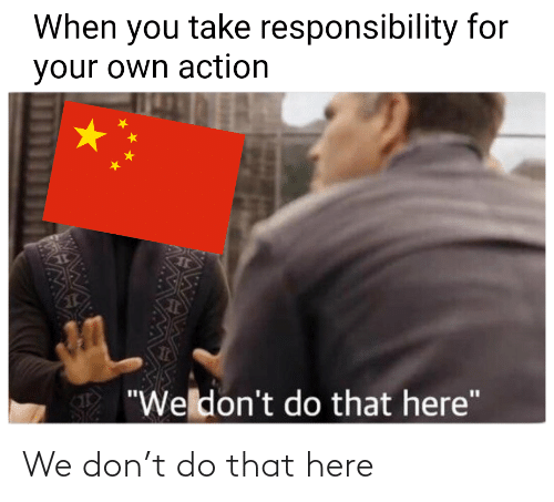 Do That: We don't do that here