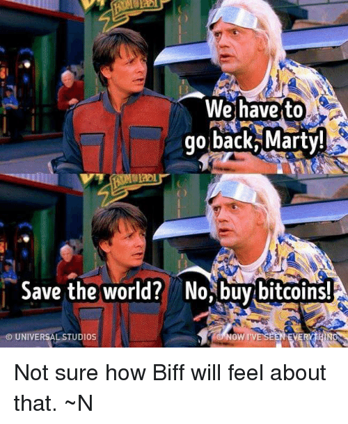 Memes World And Back We Havesto Go Marty Save The