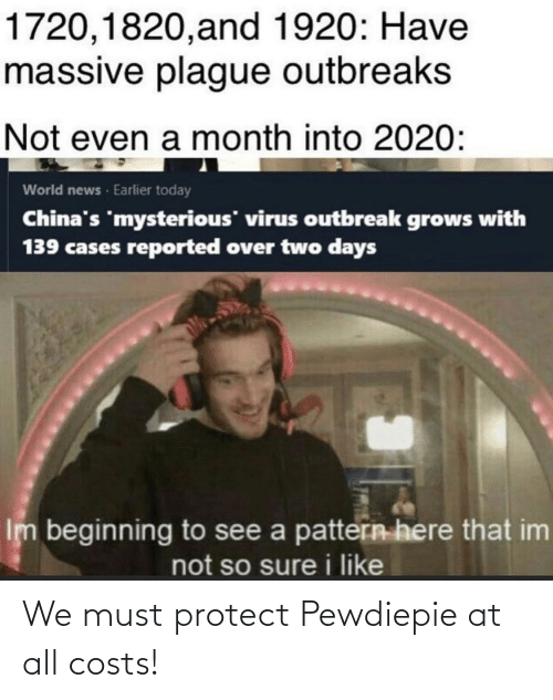 Must Protect: We must protect Pewdiepie at all costs!