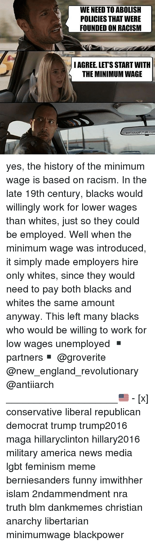 should the minimum wage be abolished in america If the minimum wage were abolished there is nothing in the constitution of the united states that allows the should the minimum wage be abolished.