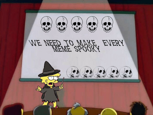 Mare: WE NEED TO MARE. EVERY  MEME SPOOKY  mon