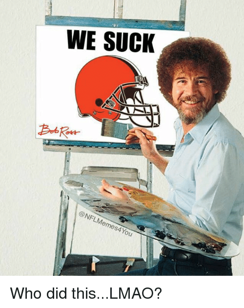 we suck: WE SUCK  @NFLMemes4You Who did this...LMAO?
