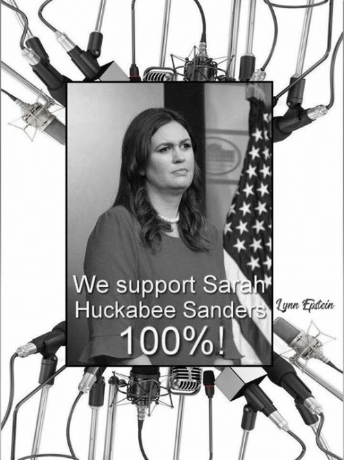 Anaconda, Memes, and 🤖: We support S  Huckabee Sand  lynn Epitcin  100%!