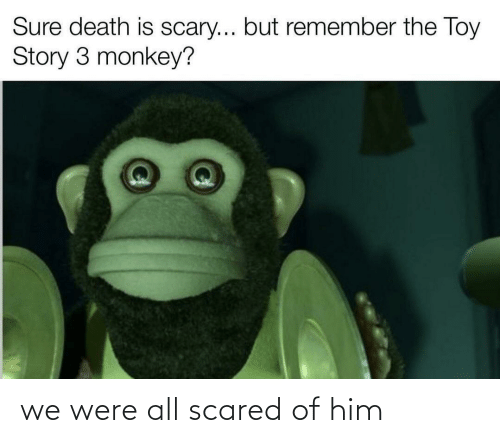 scared: we were all scared of him