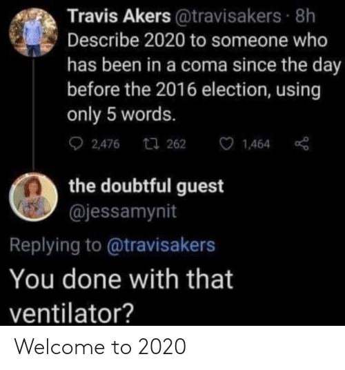 welcome: Welcome to 2020