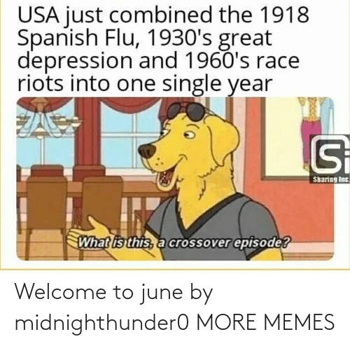 welcome: Welcome to june by midnighthunder0 MORE MEMES