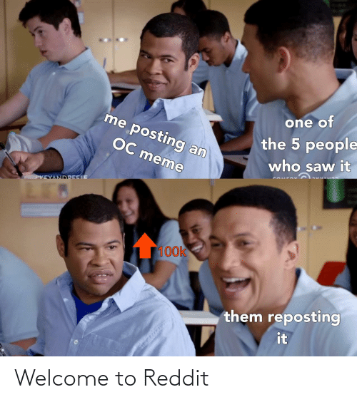 welcome: Welcome to Reddit