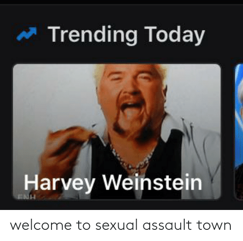 sexual assault: welcome to sexual assault town