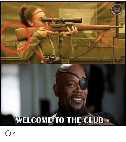 Welcome To The Club: WELCOME TO THE CLUB Ok