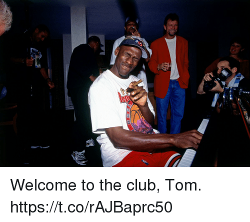 Welcome To The Club: Welcome to the club, Tom. https://t.co/rAJBaprc50