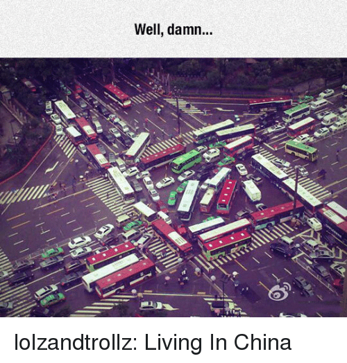 Tumblr, China, and Blog: Well, damn...  S. lolzandtrollz:  Living In China