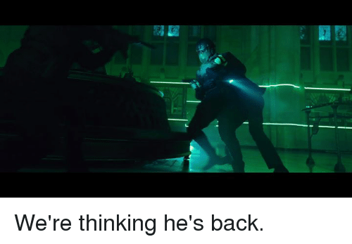 Memes, Back, and 🤖: We're thinking he's back.