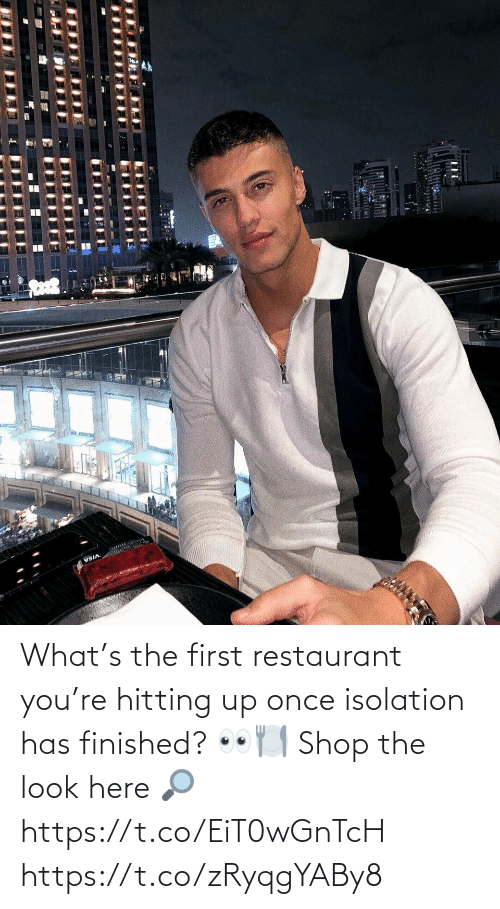 the look: What's the first restaurant you're hitting up once isolation has finished? 👀🍽  Shop the look here 🔎 https://t.co/EiT0wGnTcH https://t.co/zRyqgYABy8