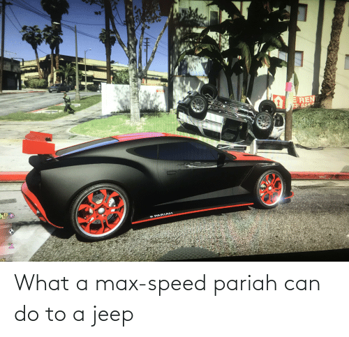 Jeep: What a max-speed pariah can do to a jeep