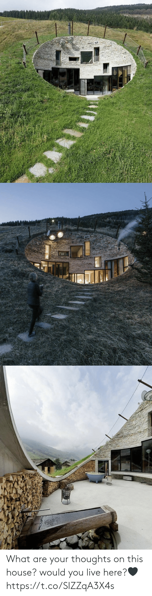 thoughts: What are your thoughts on this house? would you live here?🖤 https://t.co/SIZZqA3X4s