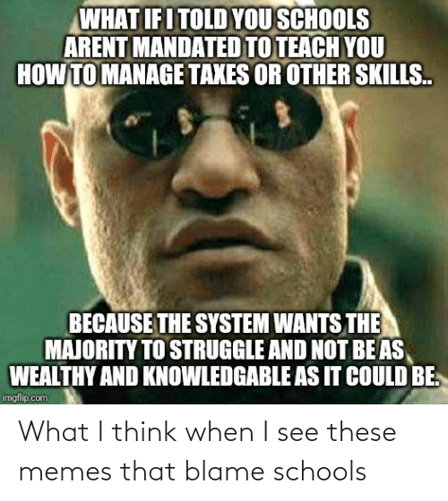blame: What I think when I see these memes that blame schools