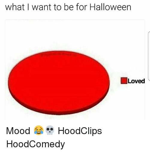 Funny, Halloween, and Mood: what I want to be for Halloween  I Loved Mood 😂💀 HoodClips HoodComedy