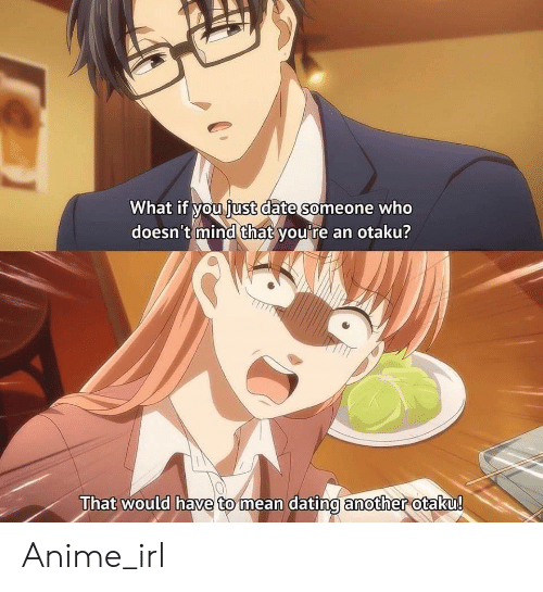 Anime, Dating, and Date: What if you iust date someone who  doesn't mind that you're an otaku?  That would have to mean dating another otaku!  mean dating amother Anime_irl