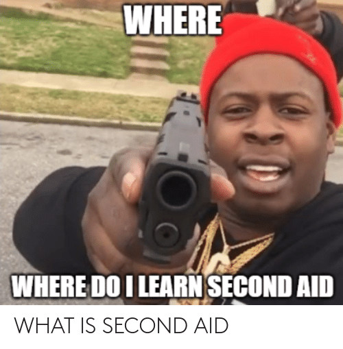 Second: WHAT IS SECOND AID