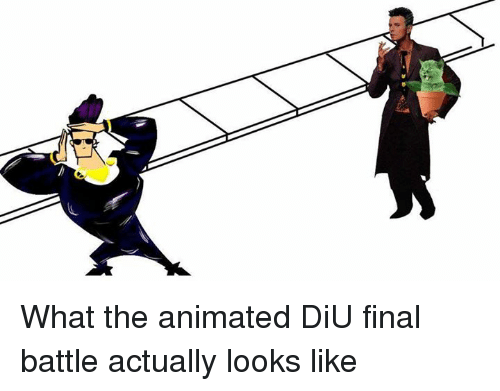 Dank, 🤖, and The Animals: What the animated DiU final battle actually looks like