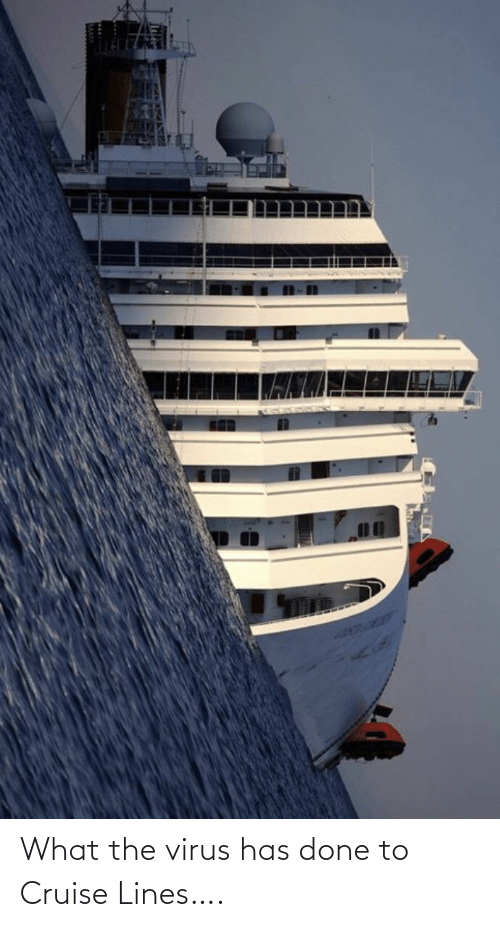 Cruise: What the virus has done to Cruise Lines….
