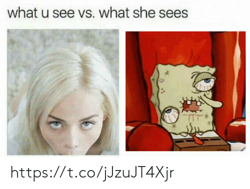 What U: what u see vs. what she sees https://t.co/jJzuJT4Xjr