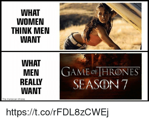 What Men Want Picture: 25+ Best Memes About What Men Really Want