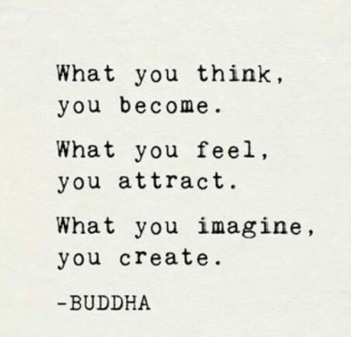 Buddha, Create, and Imagine: What you think,  you become  What you feel,  you attract.  What you imagine,  you create  BUDDHA