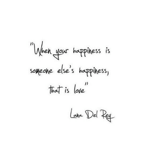 """Love, That, and Del: """"Wheh yeur happhess i's  Soweone else's happihess,  that is love  Lste Del Pe"""