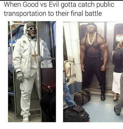 Memes, Public Transportation, and 🤖: When Good vs Evil gotta catch public  transportation to their final battle