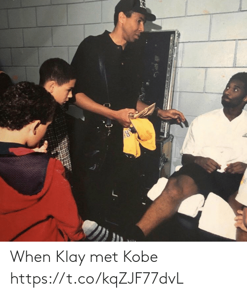 Kobe: When Klay met Kobe https://t.co/kqZJF77dvL