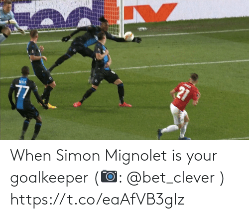 clever: When Simon Mignolet is your goalkeeper   (📷: @bet_clever ) https://t.co/eaAfVB3glz