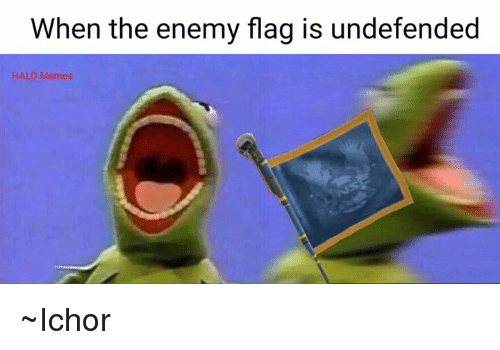 Halo Meme: When the enemy flag is undefended  HALO Memes ~Ichor