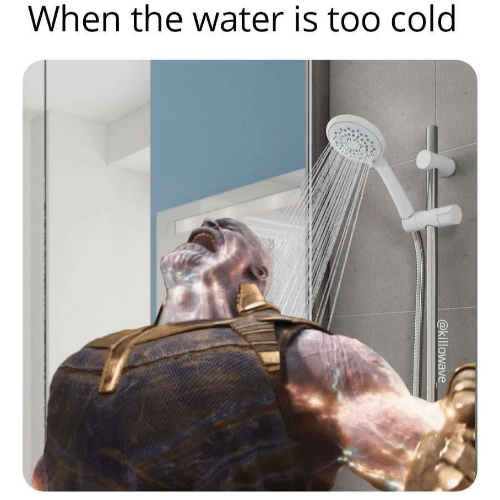 Water, Cold, and Too: When the water is too cold