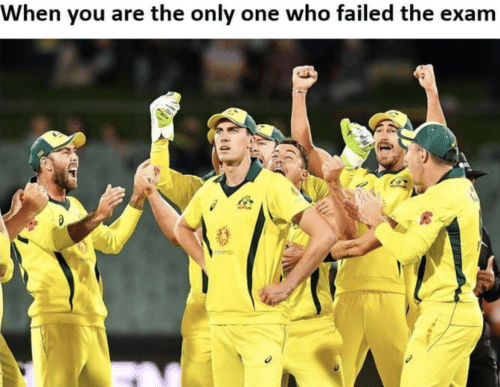 Only One, Who, and One: When you are the only one who failed the exam