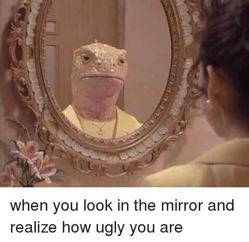 This Mirror Could Look Ugly And Old Fashioned But In This: 25+ Best Memes About Look In The Mirror