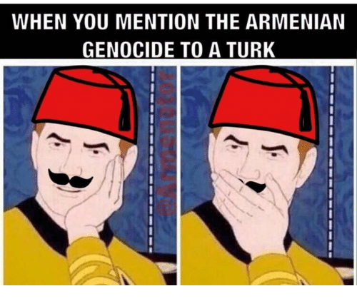 Armenian, Armenian Genocide, and Turk: WHEN YOU MENTION THE ARMENIAN  GENOCIDE TO A TURK  0