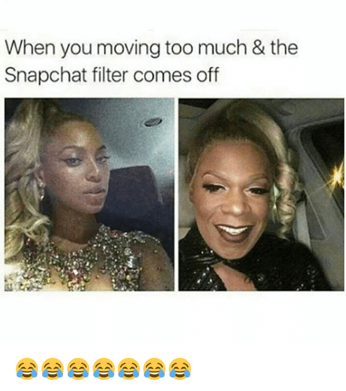 How to take snapchat filters off pictures