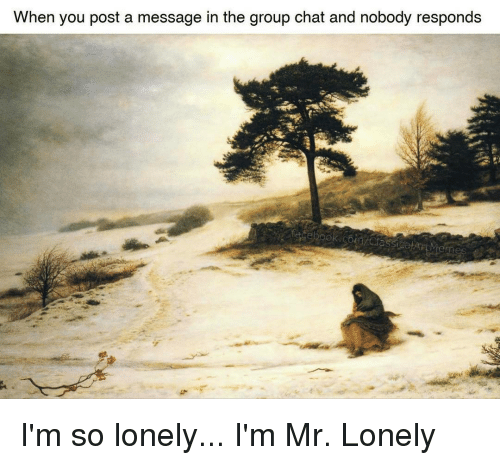 Im Mr Lonely