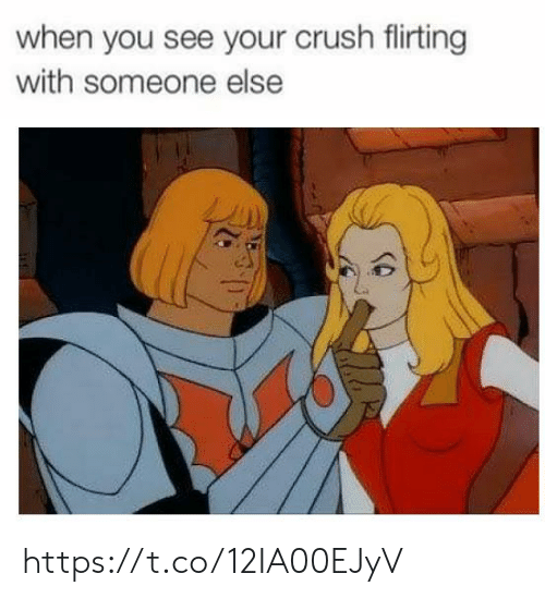 Crush, You, and When You: when you see your crush flirting  with someone else https://t.co/12IA00EJyV