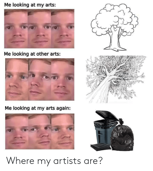 Where: Where my artists are?