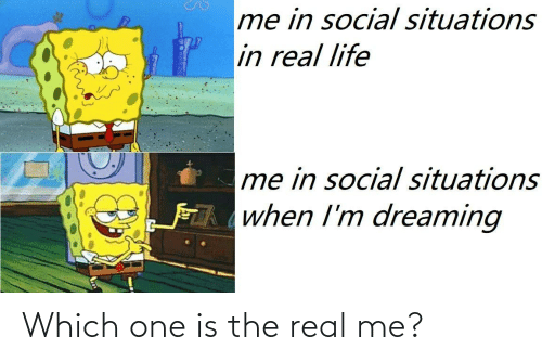 which one: Which one is the real me?