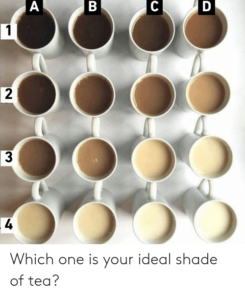 Dank, Shade, and 🤖: Which one is your ideal shade of tea?