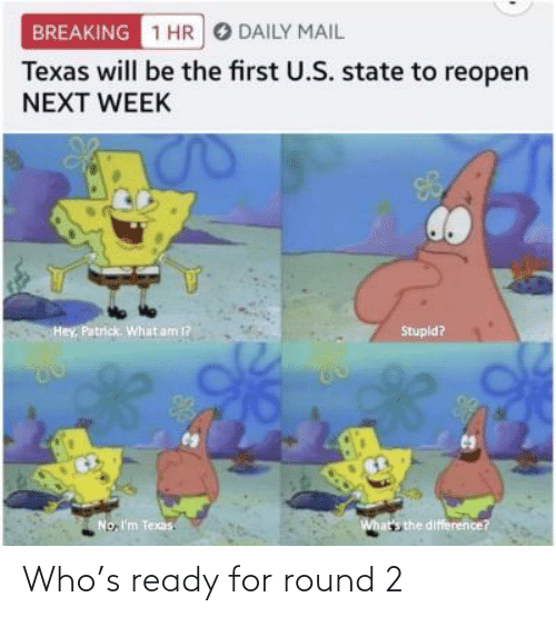 Round: Who's ready for round 2