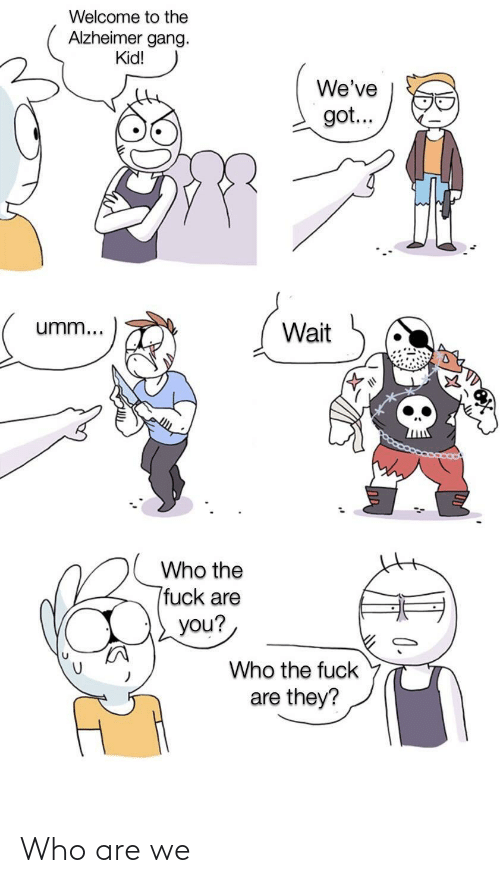 Who Are: Who are we