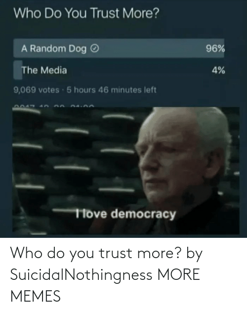 trust: Who do you trust more? by SuicidalNothingness MORE MEMES